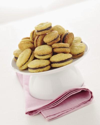 cucina, ricette, ricetta, dolci, biscotti, baci di dama, cioccolato,