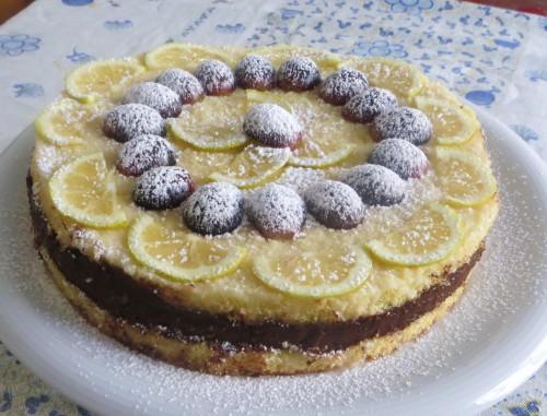 cucina, dolci, ricette, ricetta, torte, torta al limone, limone, torta al cioccolato, torta al cioccolato e limone