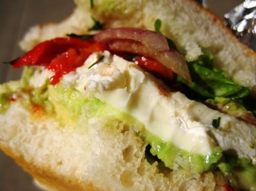 Sandwich, panini, panino, cucina, ricette, ricetta, avocado,brie,