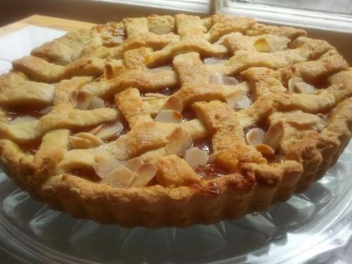 cucina, ricette, ricetta, crostata, crostate, torte, dolci, mandorle, arancia,