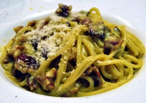cucina, ricette, ricetta, carbonara, pasta, melanzane, primi piatti,