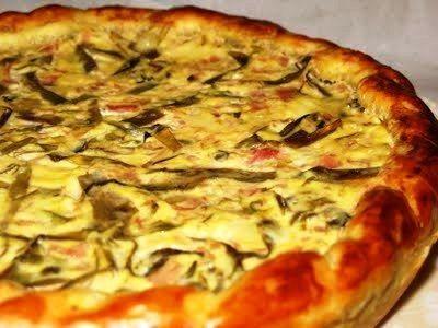 torta salata,torte salate,cucina,ricette,carciofi,mozzarella