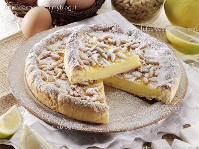 torta della nonna (light e veloce)