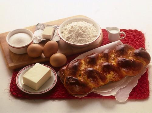 treccia di pasta - per la colazione o merenda