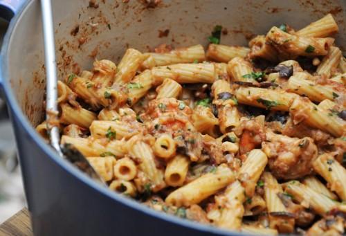 cucina, ricette, ricetta, primi piatti, primi con pesce, gamberi, pesce,